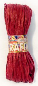 Adriafil Rafia Red